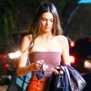 Kendall Jenner – Out with her friend Derek Blasberg at Delilah in West Hollywood