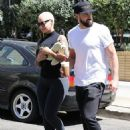 Amber Rose and Partner Maksim Chmerkovskiy Leave DWTS rehearsals in Los Angeles, California - September 15, 2016