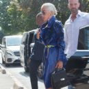 Lady Gaga – Arriving at a studio for a photoshoot in Paris