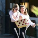 Emma Roberts – Out for lunch in Los Angeles