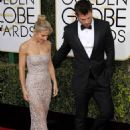 Chris Hemsworth and Elsa Pataky- 74th Annual Golden Globe Awards - 454 x 625