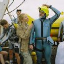 Cate Blanchett and Bill Murray in Wes Anderson's The Life Aquatic.