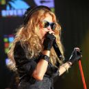 Paulina Rubio Performing Onstage In A Private Concert Presented By Univision Radio - Gotham Hall In New York City 2009-05-11