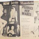 Jayne Mansfield and Mickey Hargitay - The Lowdown Magazine Pictorial [United States] (November 1957) - 454 x 310