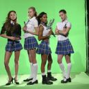 (Left to right) Devon Aoki, Sara Foster, Meagan Good, and Jill Ritchie. ©2005 Sony Pictures Entertainment.