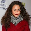 Madison Pettis attends The Hollywood Christmas Parade Benefiting Toys For Tots Foundation on December 1, 2013 in Hollywood, California - 454 x 562