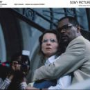 Left: Juliette Binoche as Anna Malan; Right: Samuel L. Jackson as Langston Whitfield; Photo by: Karen Alsbirk.
