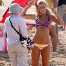 Lorraine Nicholson - Filming ''Soul Surfer'' In Hawaii, 2010-02-03