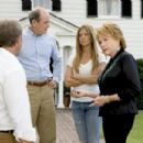 L-r: Kevin Costner (back to camera) as Beau, Richard Jenkins as Earl, Jennifer Aniston as Sarah and Shirley MacLaine as Katharine in Warner Bros. Pictures' and Village Roadshow Pictures' romantic comedy 'Rumor Has It...,' also starring