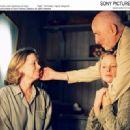 Left: Liv Ullman; Center: Julia Dufvenius as Karin; Right: Filmmaker, Ingmar Bergman; Photo by: Bengt Wanselius. - 454 x 329