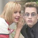 Arielle Kebbel and Aaron Roman (Gores) in a scene from 'The Kid & I'