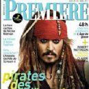 Johnny Depp - Premiere Magazine Cover [France] (April 2011)