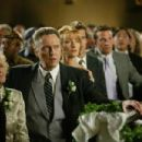 """(left to right) Ellen Albertini Dow as """"Grandma Cleary,"""" Christopher Walken as """"Secretary Cleary,"""" and Jane Seymour as """"Kathleen,"""" in New Line Cinema's upcoming Wedding Crashers, a fast-paced comedy of love turned"""