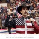 At a Roanoke, Virginia rodeo, Borat mangles the National Anthem – and the rodeo fans aren't happy about it! TM and © 2006 Twentieth Century Fox. All rights reserved.