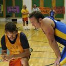 Andrew Wilson as Dennis Buckstead and Larry Bagby as Blake Bracken in Church Ball - 2006 - 454 x 301