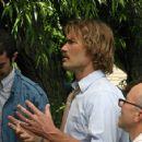 (center) Andrew Wilson as Dennis Buckstead and Clint Howard as Gene Jensen in Kurt Hale movie Church Ball - 2006