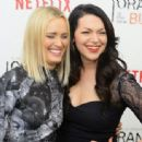 Taylor Schilling and Laura Prepon - 454 x 337