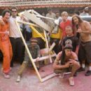 Johnny Knoxville, Ryan Dunn, Jason Acuna, Steve-O and Chris Pontius