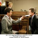 (Left to right) Robert Downey Jr. as Dr. Kozak, Jane Curtin as Judge Claire Whittaker and Tim Allen as Dave Douglas. Photo Credit: Joseph Lederer © 2006 Disney Enterprises, Inc. All rights reserved.'