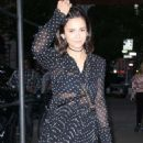 Nina Dobrev – Arrives at the Dior Makeup Launch Dinner in New York