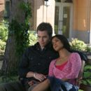 Chris Pine as Danny and Anjali Jay as Leeza in Blind Dating - 2007