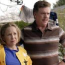 Debra Jo Rupp as Sylvia Schumacher and Christopher McDonald as Marty Schumacher in Kickin' It Old Skool - 2007