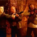Brent Spiner, Patrick Stewart and Michael Dorn in Star Trek: Insurrection
