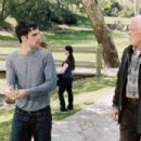 Dan Millman (Scott Mechlowicz) and Socrates (Nick Nolte) in PEACEFUL WARRIOR. - 454 x 302