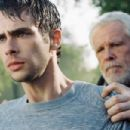 Dan Millman (Scott Mechlowicz) and Socrates (Nick Nolte) in PEACEFUL WARRIOR.