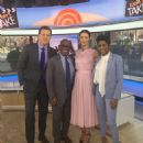 Pictures of Caitriona Balfe on The Today Show (April, 6, 2016)