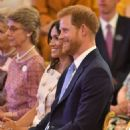 Meghan Markle and Prince Harry – Queen's Young Leaders Awards in London