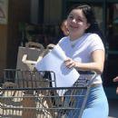 Ariel Winter in Blue Spandex – Shopping in Los Angeles
