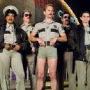 The men and women of the Reno Sheriff's Department, on special assignment in Miami, check out the nighttime scene. From left: Trudy Wiegel (Kerri Kenney-Silver), Raineesha Williams (Niecy Nash), James Garcia (Carlos Alazraqui), Jim Dangle (Thomas Le - 454 x 300