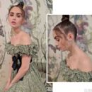 Lily Collins – Glamour UK Magazine (December 2018)