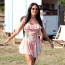 Yazmin Oukhellou – Filming 'The Only Way is Essex'