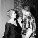Nicholas Ray and Gloria Grahame