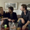 (Left) Julie Delpy as Marion and (center) Adam Goldberg as Jack in 2 Days in Paris