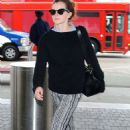 Emma Watson At Lax Airport In Los Angeles