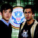 "John Cho (left) stars as ""Harold"" and Kal Penn (right) stars as ""Kumar"" in New Line Cinema's release HAROLD AND KUMAR ESCAPE FROM GUANTANAMO BAY. Photo Credit: Jaimie Trueblood/New Line Cinema"