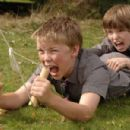 """From Left to Right: Will Poulter as """"Lee Carter"""" and Bill Milner as """"Will Proudfoot"""" star in """"Son of Rambow"""", a Paramount Vantage release. Photo by Maggie Ferreira. © 2008 by PARAMOUNT VANTAGE, a Division of PARAMOUNT P - 454 x 301"""