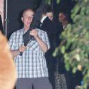 Miranda Kerr and Evan Spiegel – Leaving Gwyneth Paltrow Black Tie Event in LA - 454 x 589