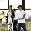 Adam Levine and Behati Prinsloo out in West Hollywood (August 9)