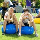 Eric Christian Olsen (left) and Nicholas D'Agosto star in Screen Gems' comedy FIRED UP. Photo credit: Suzanne Tenner. © 2009 Screen Gems, Inc.  All rights reserved.