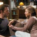 (L-r) BEN AFFLECK stars as Neil and JENNIFER ANISTON stars as Beth in New Line Cinema's romantic comedy 'He's Just Not That Into You,' a Warner Bros. Pictures release. Photo Courtesy of New Line Cinema