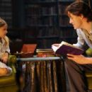 Young Meggie and Brendan Fraser star as Mo 'Silvertongue' Folchart in Inkheart