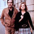 Jean Yanne and Nicole Calfan - 454 x 334