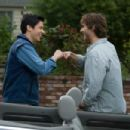 Ben (Oliver James) and Zach (Kristopher Turner) in comedy adventure 'Without a Paddle: Nature's Calling.' - 454 x 302