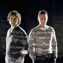 David Krumholtz as Charlie Eppes and Rob Morrow as Don Eppes in drama mystery thriller 'Numb3rs.' - 454 x 471