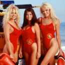 Pamela Anderson, Yasmine Bleeth and Gena Lee Nolin in Baywatch
