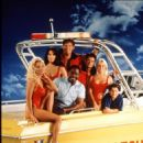 Pamela Anderson, Alexandra Paul, David Chavet,Nicole Eggert,Gregory Alan Williams, David Hasselhoff and Brandon Call on Baywatch